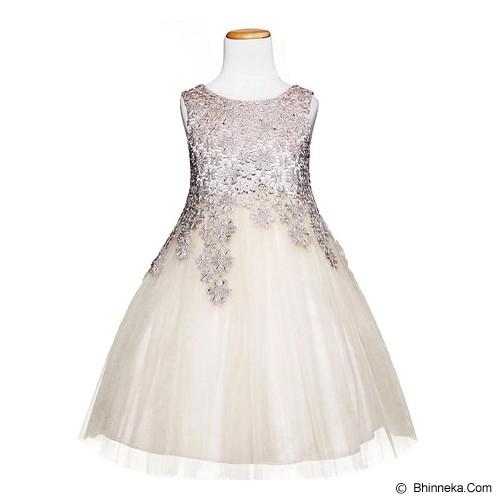 AMBER BERRY Amber Berry Dress Champagne Size 11 - Dress Bepergian/Pesta Bayi dan Anak