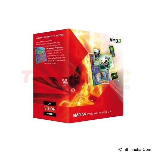 AMD Llano Dual-Core 2.7GHz [A4-3400] (Merchant) - Processor Amd Llano