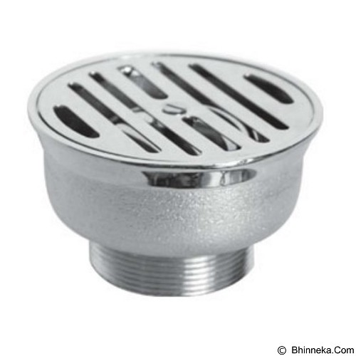 AMERICAN STANDARD Floor Drain Round IN 23 [F030A262] - Tutup Lubang Air / Drain Stopper