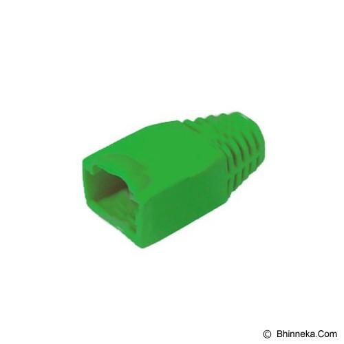 AMP Plugboot RJ45 - green - Plug Boot / Jacket