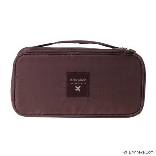 ANEKA IMPORT Underwear Organizer - Brown - Travel Bag