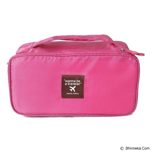 ANEKA IMPORT Underwear Organizer - Pink - Travel Bag