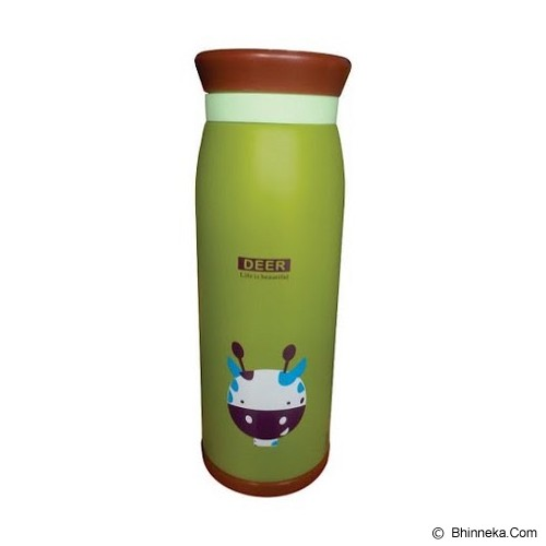 ANIMAL Thermos Karakter Kartun Deer 500ml - Green - Botol Minum