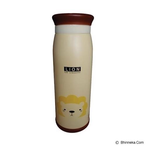 ANIMAL Thermos Karakter Kartun Lion 500ml - Brown - Botol Minum