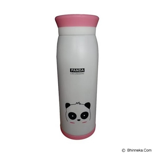 ANIMAL Thermos Karakter Kartun Panda 500ml - White - Botol Minum