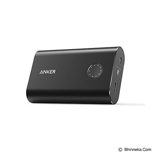 ANKER PowerCore+ 10050 Portable Charger [A1310H12] - Black (Merchant) - Portable Charger / Power Bank