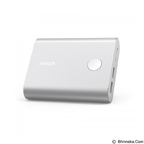 ANKER PowerCore+ 13400mAh [A1315H41] - Silver - Portable Charger / Power Bank