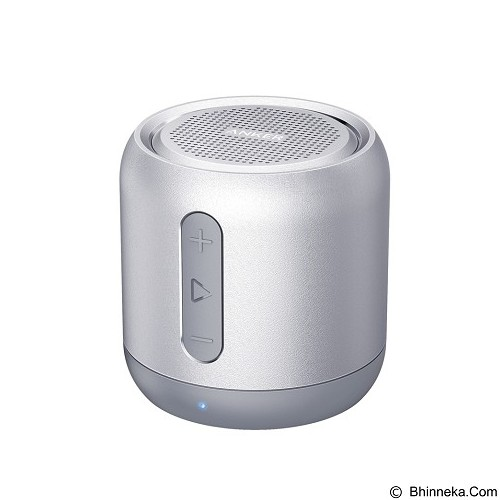 ANKER SoundCore Mini Speaker Bluetooth Portable [A31011A1] - Silver (Merchant) - Speaker Bluetooth & Wireless