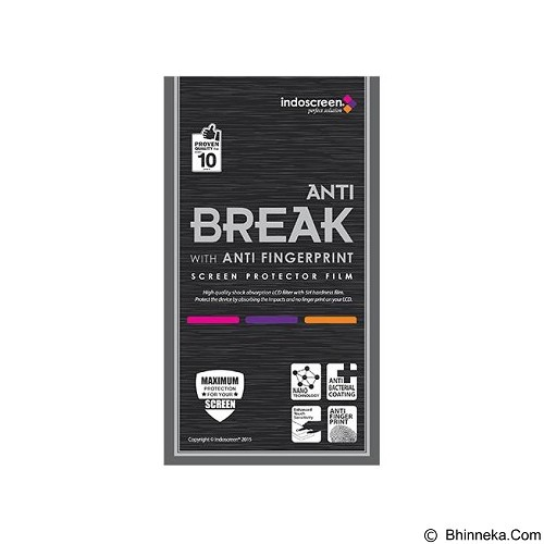 ANTI BREAK Screen Protector for Samsung Galaxy S6 Fullset - Clear - Screen Protector Handphone