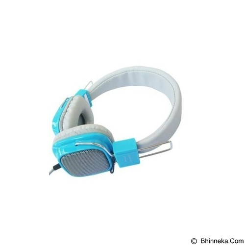 ANUGRAH COMP Headset Clear Cast [cc01] - Blue (Merchant) - Headphone Portable