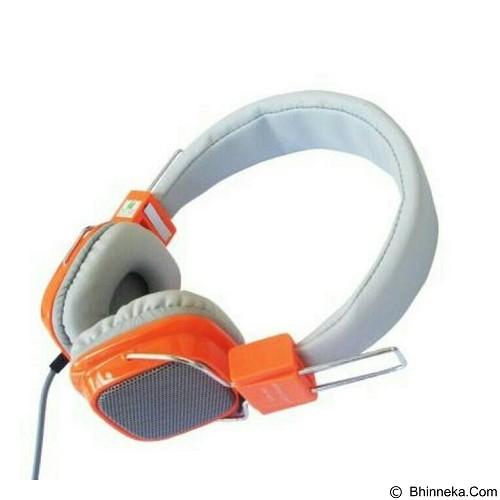 ANUGRAH COMP Headset Clear Cast [cc01] - Orange (Merchant) - Headphone Portable
