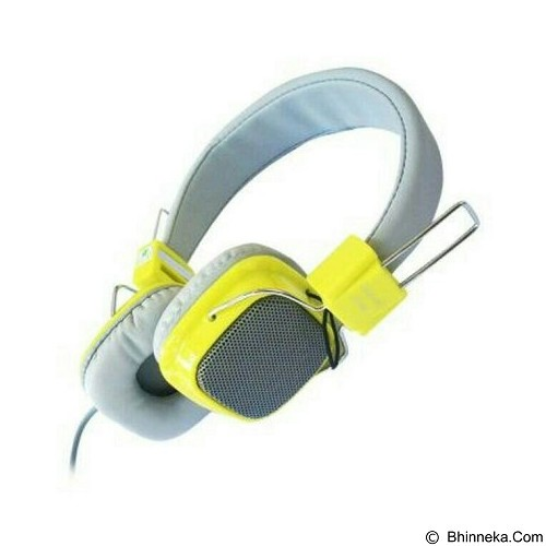 ANUGRAH COMP Headset Clear Cast [cc01] - Yellow (Merchant) - Headphone Portable