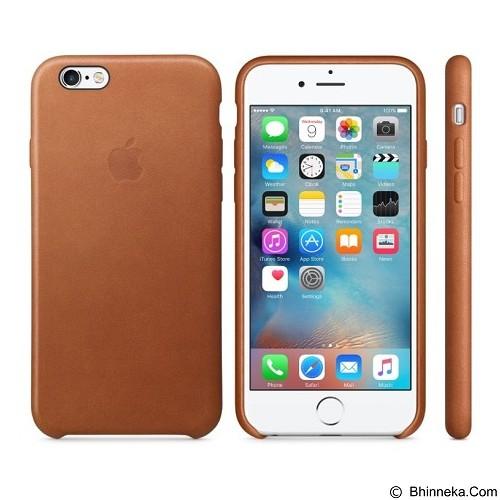 ANYCASE INDONESIA Premium Leather iPhone 6 Case - Brown  (Merchant) - Casing Handphone / Case