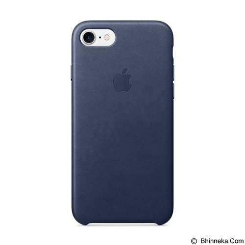 ANYCASE INDONESIA Premium Leather iPhone 7 Case - Midnight Blue (Merchant) - Casing Handphone / Case