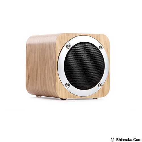 ANYCASE INDONESIA Wooden Portable Mini Bluetooth Speaker [B06] - Midnight Blue (Merchant) - Speaker Bluetooth & Wireless
