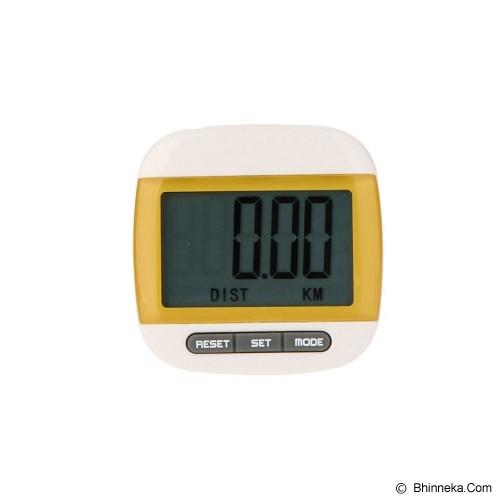 ANYLINK Billionton Pedometer Electronic - Kuning - Alat Pencatat Langkah / Pedometer