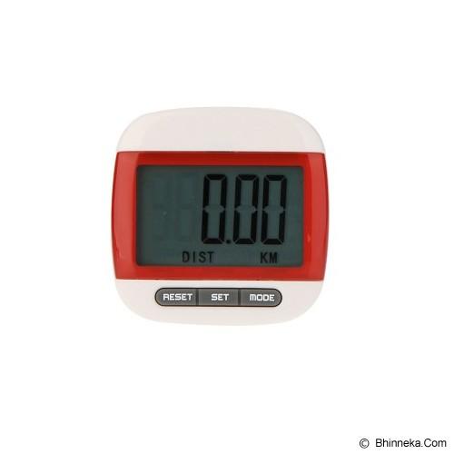 ANYLINK Billionton Pedometer Electronic - Merah - Alat Pencatat Langkah / Pedometer
