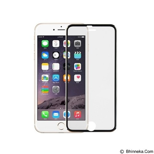 ANYLINK Billionton Tempered Glass iPhone 6 BK 4,7 - Black (Merchant) - Screen Protector Handphone