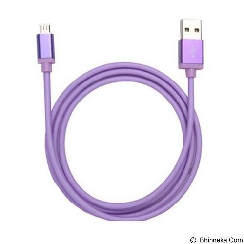 ANYLINK Billionton USB Micro Fishing Data Cable 1M - Purple (Merchant) - Cable / Connector Usb