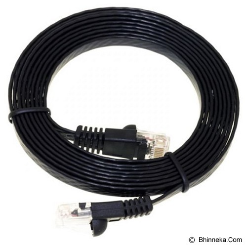 ANYLINX Cable Networking 5 Meter Cat6 - Hitam - Network Cable Utp