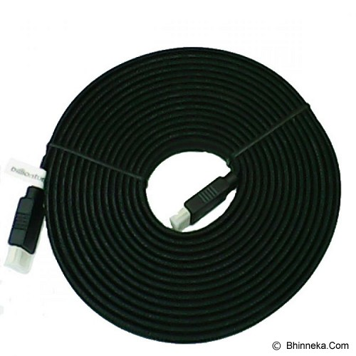 ANYLINX HDMI Cable Flat 5M - Hitam - Cable / Connector Hdmi