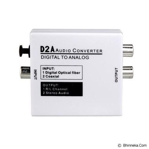 ANYLINX Audio Converter Digital to Analog [D2A] - White - Musik Converter Controller