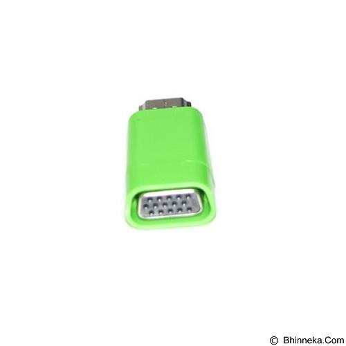 ANYLINX Konektor HDMI to VGA Color - Green - Cable / Connector Hdmi
