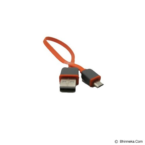 ANYLINX Cable Micro USB Flat 25CM Fast Charger - Merah - Cable / Connector Usb