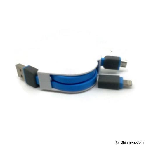 ANYLINX Cable Usb 2 in 1 Retrec - Biru - Cable / Connector Usb