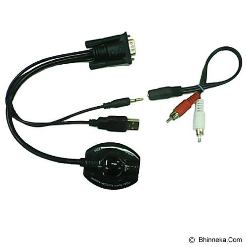 ANYLINX Cable VGA Audio to HDMI 20CM - Hitam - Cable / Connector Vga