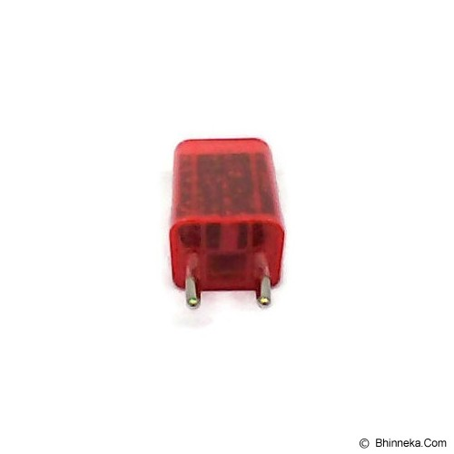 ANYLINX Charger USB 2 Port 3 - Red - Charger Handphone