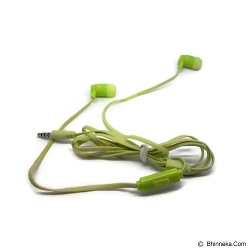 ANYLINX Headset Ienjoy Earphones with Mic - Green - Earphone Ear Monitor / Iem