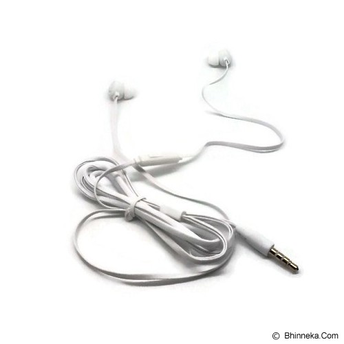 ANYLINX Headset Ienjoy Earphones with Mic - White - Earphone Ear Monitor / Iem