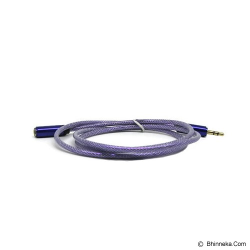 ANYLINX Kabel Audio Net Male to Female 1M - Ungu - Cable / Connector Analog