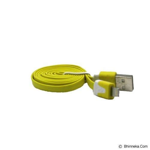 ANYLINX Kabel IP6 Lightning Flat Double IC Fast Charger - Kuning - Cable / Connector Usb