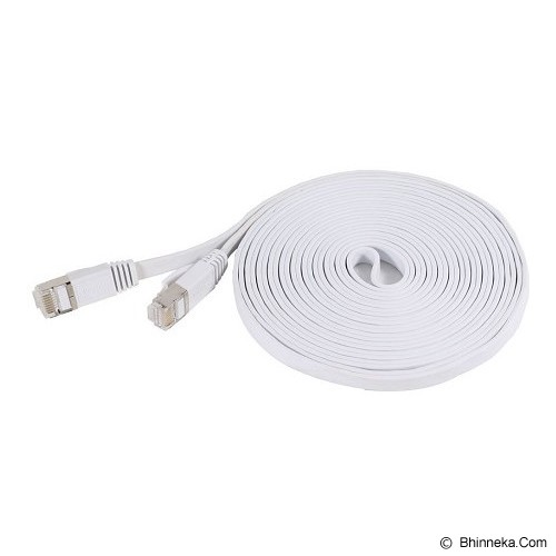 ANYLINX Kabel LAN Cat 7 10 Meter - Putih - Network Cable Utp