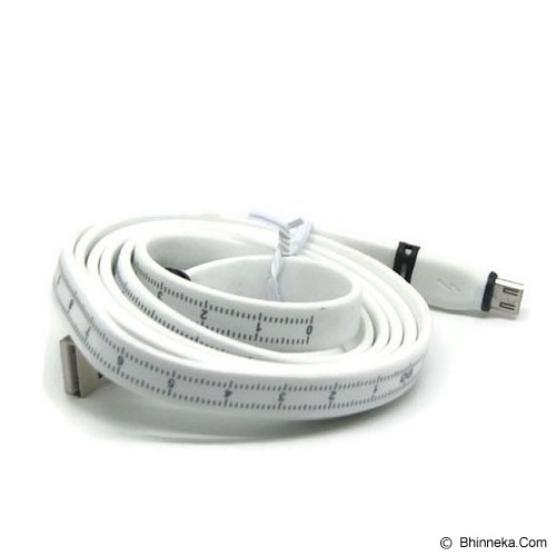 ANYLINX Kabel Micro USB Data Dan Fast Charger 1.2M Scale - White - Cable / Connector Usb