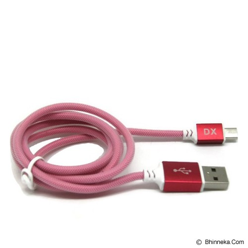 ANYLINX Kabel Micro USB Superfast Charger 1M 3A [LXD-001] - Merah - Cable / Connector Usb