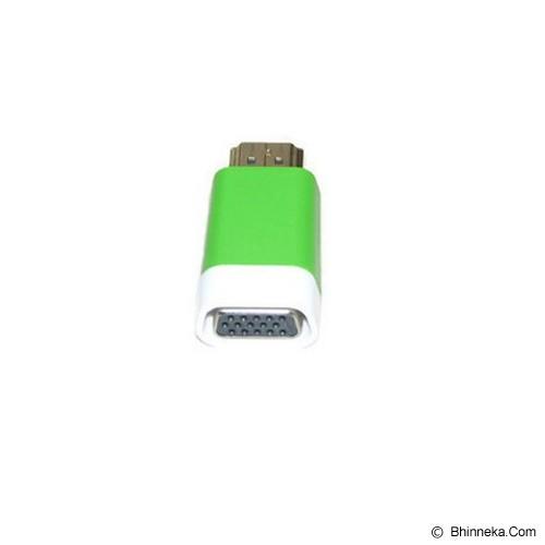ANYLINX Konektor HDMI to VGA Adapter - Green - Cable / Connector Hdmi