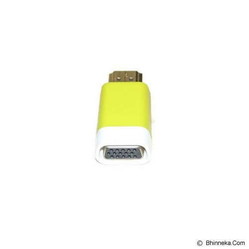 ANYLINX Konektor HDMI to VGA Adapter - Yellow - Cable / Connector Hdmi