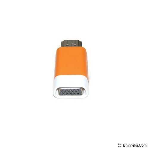ANYLINX Konektor HDMI to VGA Adapter - Orange - Cable / Connector HDMI