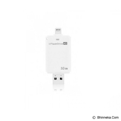 ANYLINX I-Flash Drive 32GB - Putih - Usb Flash Disk Dual Drive / Otg