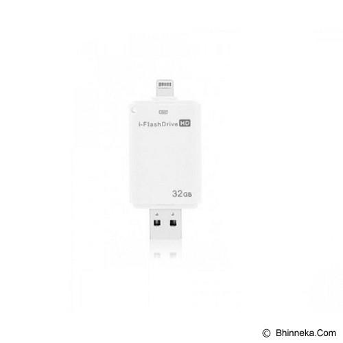 ANYLINX I-Flash Drive 32GB - Putih - Usb Flash Disk Dual Drive / Otg