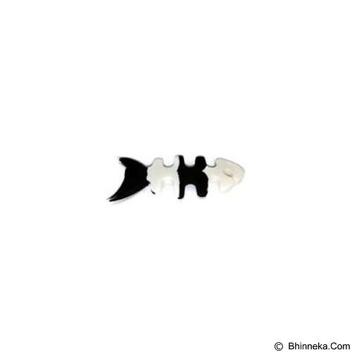 ANYLINX Smartwarp Alat Lilit Kabel Tulang Ikan - Black (Merchant) - Gadget Cable Holder