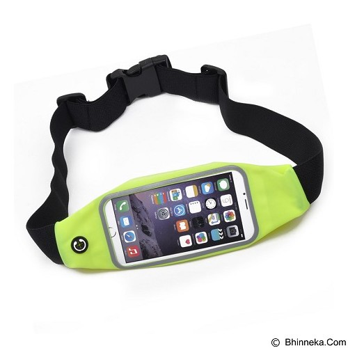 ANYLINX Sport Belt Zipper Touch for iPhone 6 5.5 Waterproof - Yellow - Arm Band / Wrist Strap Handphone