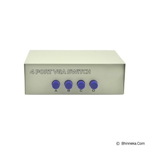 ANYLINX Switch/Selector Video VGA 4 to 1 - Putih - Audio / Video Switch Box
