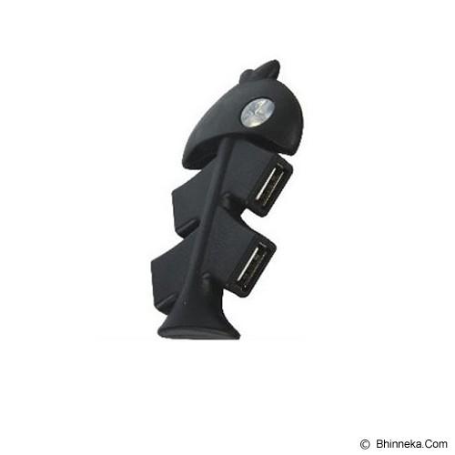 ANYLINX USB Hub Ikan 4 Port - Black - Cable / Connector Usb