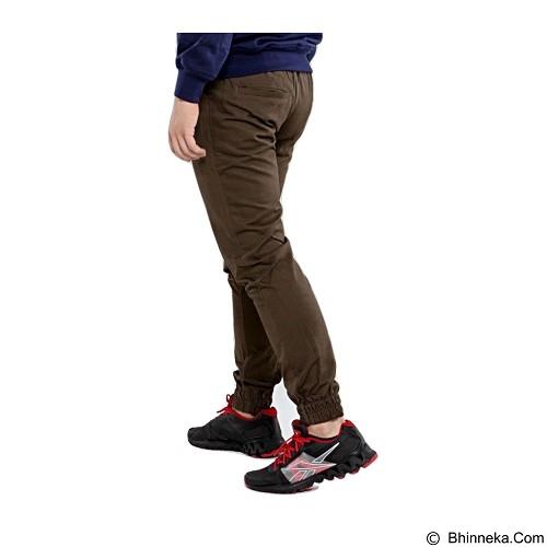 APPAREL LAB Jogger Basic Size XL - Dark Brown (Merchant) - Celana Panjang Pria
