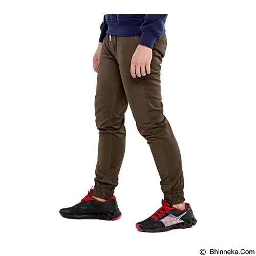 APPAREL LAB Jogger Basic Size M - Dark Brown (Merchant) - Celana Panjang Pria