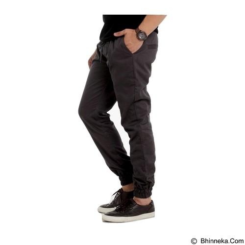 APPAREL LAB Jogger Basic Size M - Dark Grey (Merchant) - Celana Panjang Pria